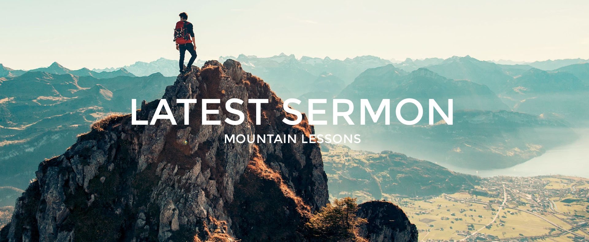 Mountain Lessons - Sermon Series by Mark Thornett