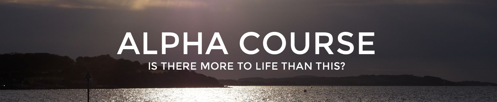 Alpha Course in Cowes